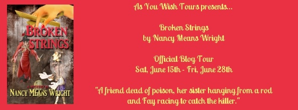 Broken Strings Blog Tour Banner