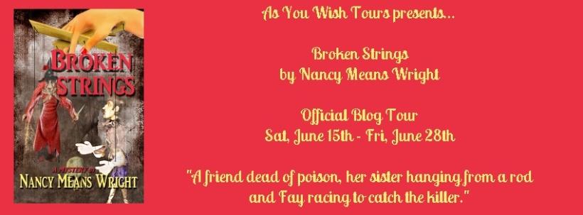 Broken Strings Blog Tour Banner