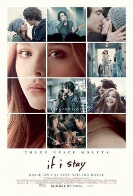 if i stay poster