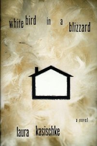 white bird in a blizzard book
