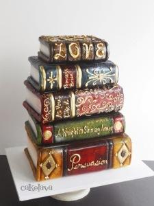 bookish cake 5