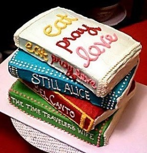 bookish cake 6