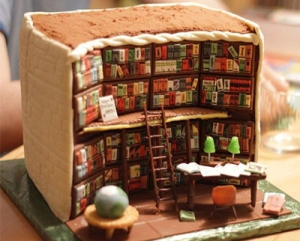 bookish cake 7